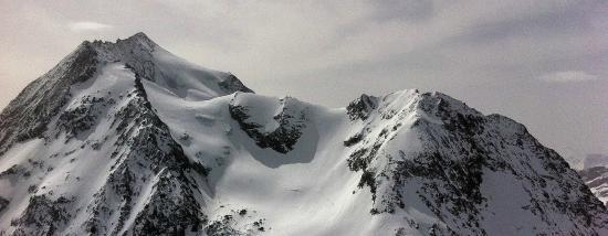 La Plagne Ski Resort: Mt. Pourri from the Auguille Rouge, Les Arc