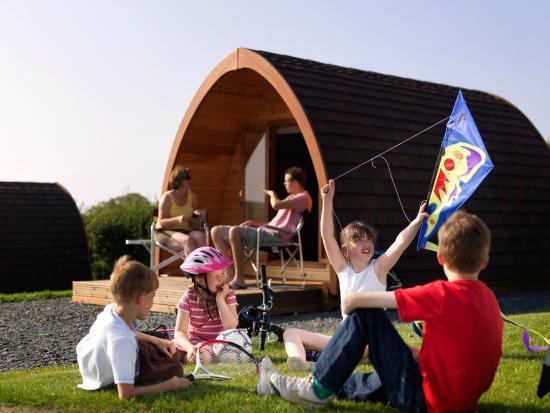 Bay View Holiday Park: A family pod