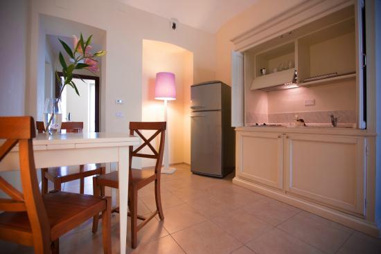 Bilocale-Zona Pranzo-Angolo cottura-Hotel Torino Santa Giulia art & Wine Residence