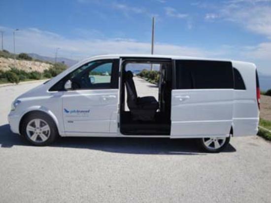Athens Minibus: Mini-Van