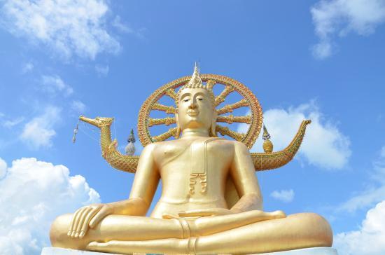 Bophut, Thailand: Big Buddha