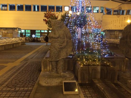 Gyoza Dumpling Statue