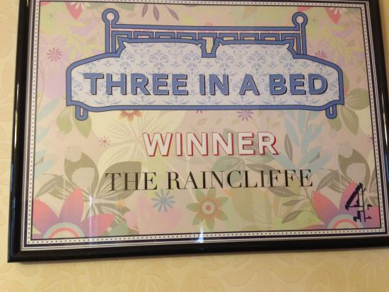 Raincliffe Hotel : They would win Four in a Bed too