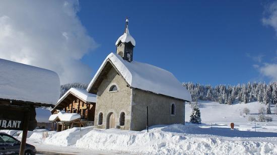 La Clusaz Ski Resort: very picturesque