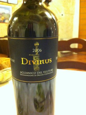 vino buonissimo