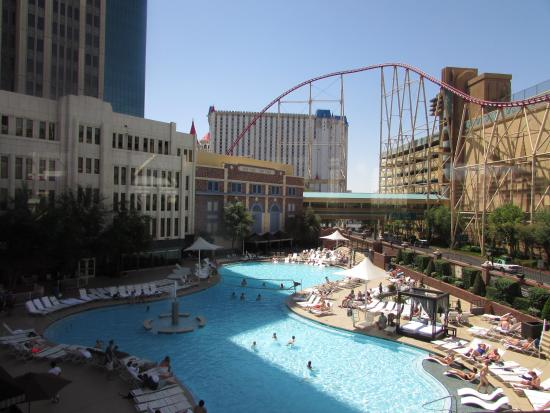 The Pool Area Picture Of New York New York Hotel And Casino Las Vegas Tripadvisor