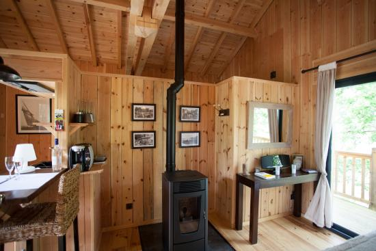 po le cabane maguide picture of la cabane au bord du lac biscarrosse tripadvisor. Black Bedroom Furniture Sets. Home Design Ideas
