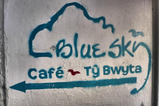 Blue sky cafe marijuana blue sky cafe the entry leading to the cafe