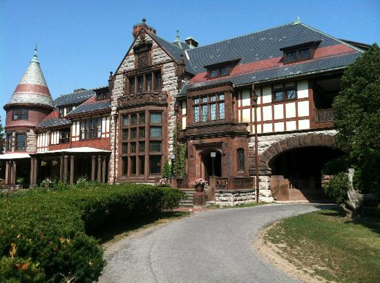 View From Veranda Of Sonnenberg Mansion Picture