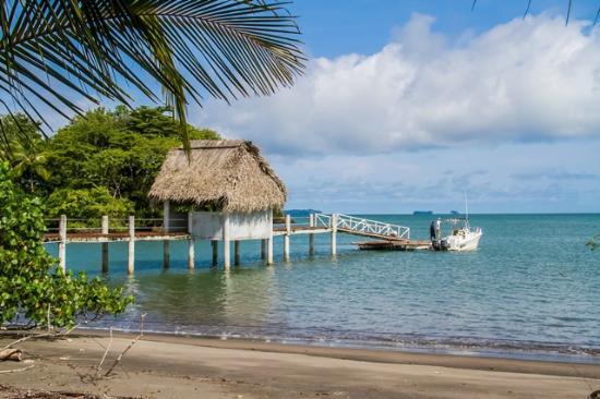 La Cocaleca - Isla Boca Brava Day Tour: muelle privado