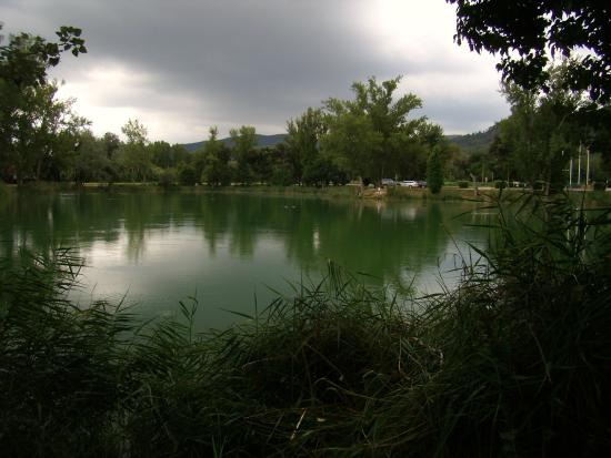 Lake Banyoles : Vista del Estany