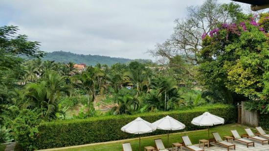 The Apsara Rive Droite: View from outside Room 3.