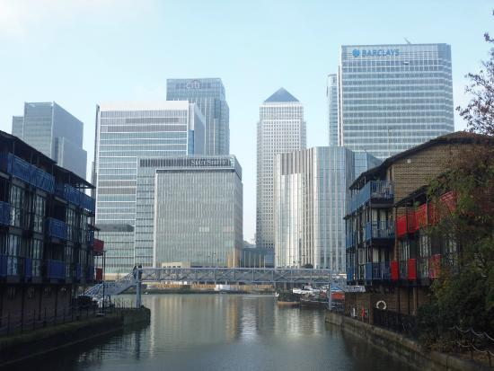 londres moderne - Picture of Ibis London Docklands Canary Wharf ...