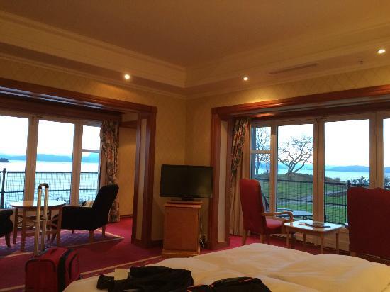 Solstrand Hotel & Bad: Corner room