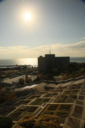 The Westin Awaji Island Resort & Conference Center: Hotel in its morning glory