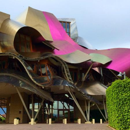 Hotel De La Bodega Obra Del Canadiense Frank Gehry Picture Of