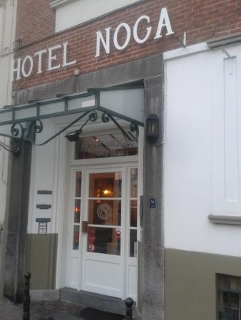 Hotel Noga Brussels: Fachada