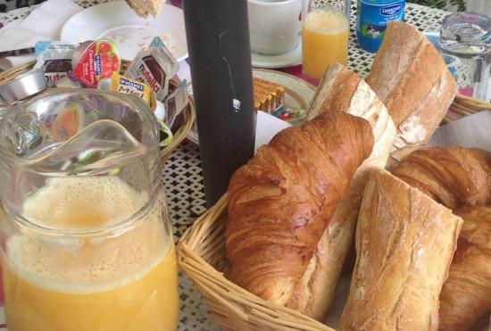 Hotel Danemark : Café da manhã do hotel