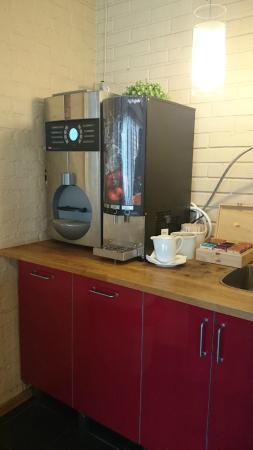 Coffee machine in the Breakfast