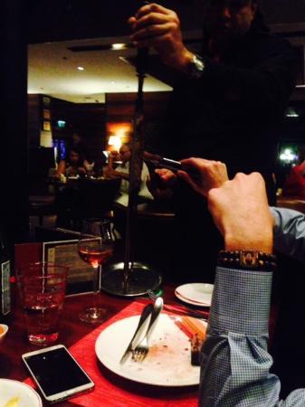 Chamas: waiters
