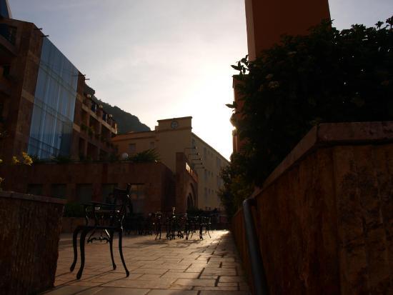 Balneario TermaEuropa Arnedillo: Una de las terrazas
