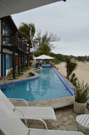 Chez Pitu Praia Hotel: Piscina