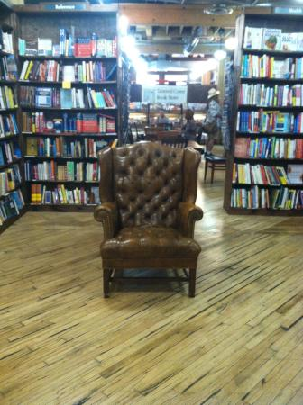 Tattered Cover Bookstore: You could read here all day