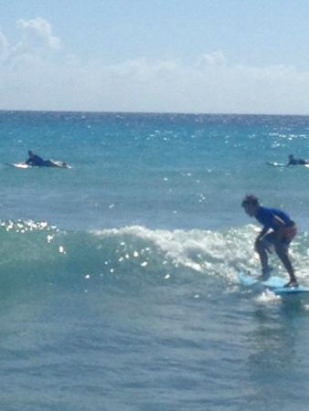 Barry's Surf Barbados Surf School : Great learning environment!