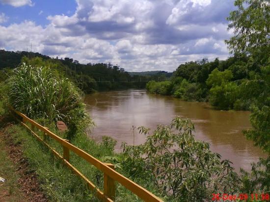 Toropi, RS: Visão do rio