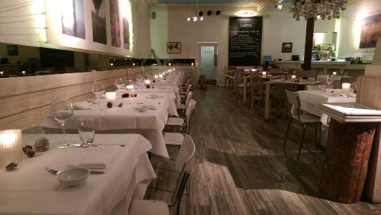 Brasserie Marblau: Modernes gehobenes Ambiente