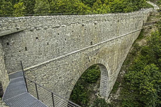 The Roman Aqueduct-Bridge of Pont d'Ael