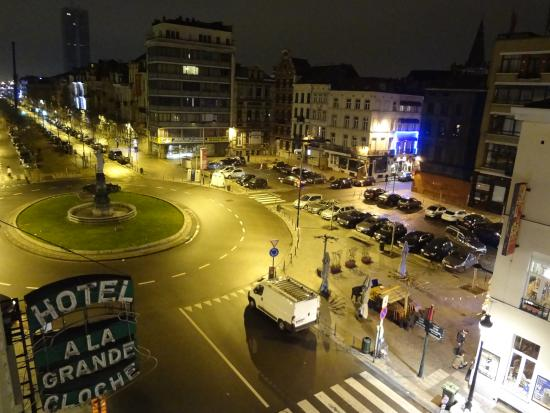 Hotel a la Grande Cloche: View from our room
