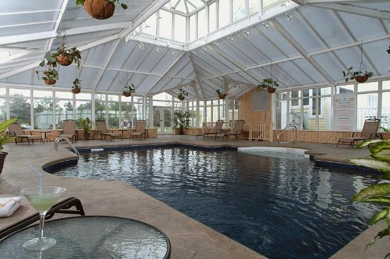 Auberge & Spa West Brome: Interior pool