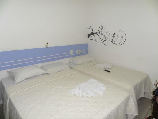 Hotel Ponta de Areia: Um do quartos que compõem o quarto duplo acoplado