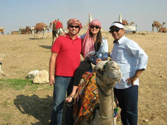 Ramasside Tours - Day Tours: Camel ride with Mimmo