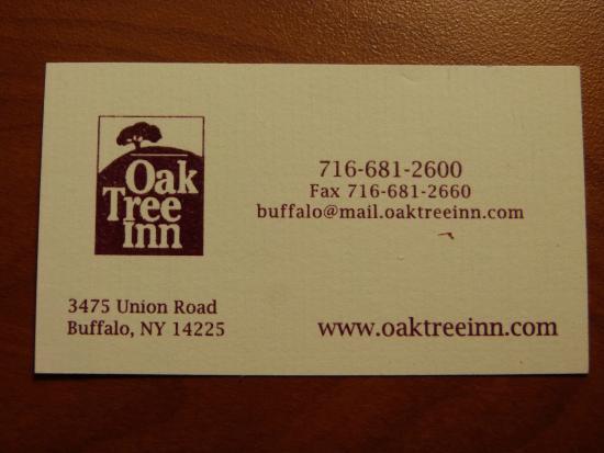 Oak Tree Inn: Address