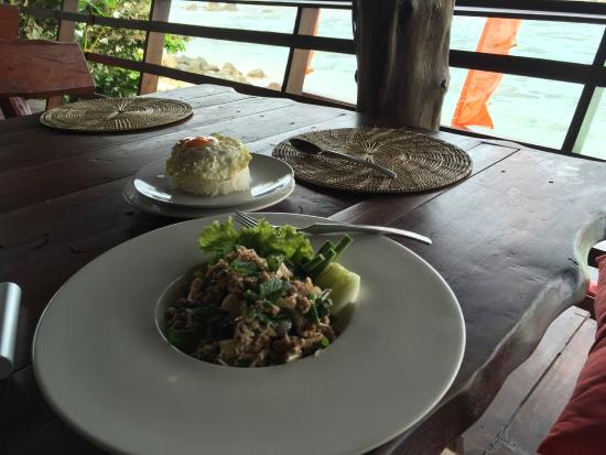 On The Rocks Restaurant at Serendipity : MUST TRY LARB MOO