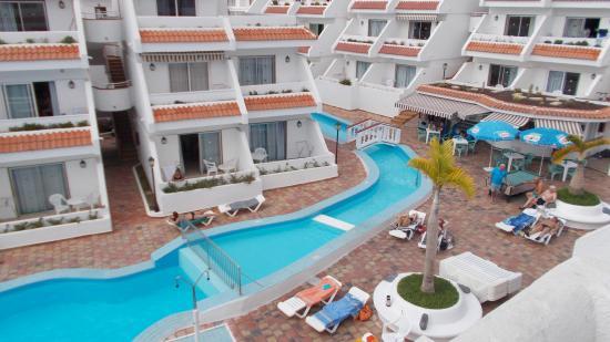 Las Floritas Apartments: Las Floritas pool