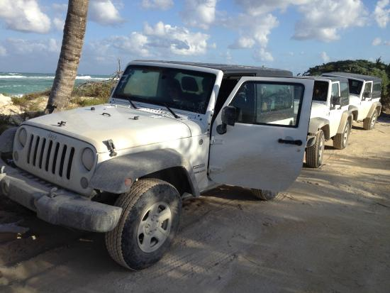 Espacio Natura: this is our jeep