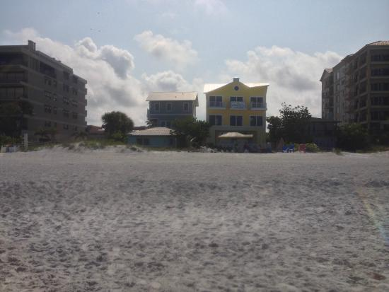 "Barrett Beach Bungalows : View of the adorable ""yellow house"""
