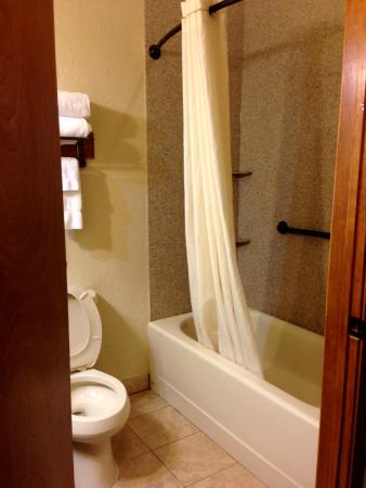 Brookstone Lodge : Shower