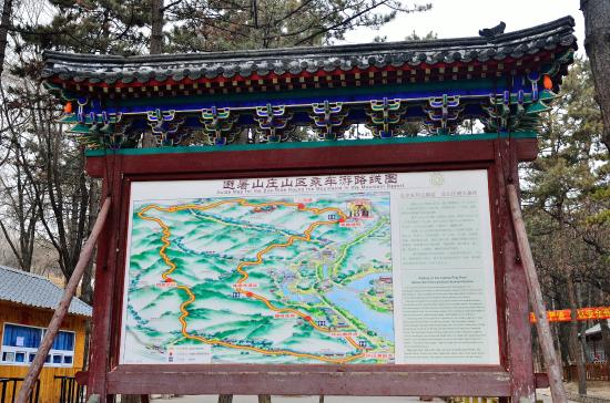 Map Picture Of Imperial Summer Palace Of Mountain Resort - Chengde map