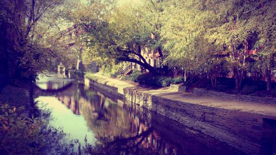 Rosewood Washington, D.C.: canal next to hotel