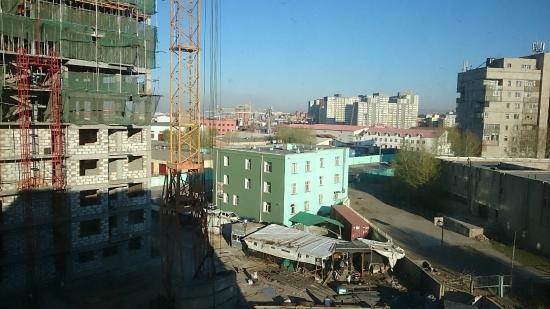 Best Western Gobi's Kelso: View from my room (although it will probably have changed by the time you get there)