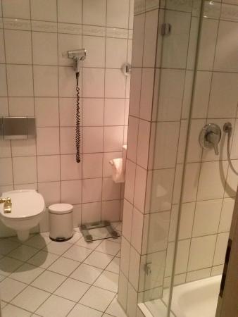 Hotel Restaurant Lindenhof: Bathroom