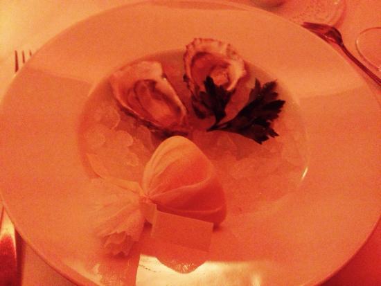 Restaurant Sebald : Austern mit Brot ;) lecker