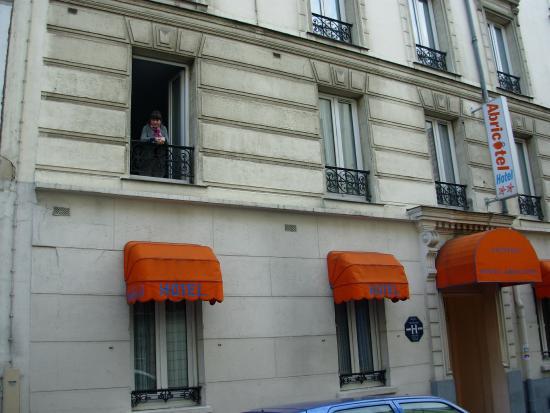Abricotel Hotel : Frente del Hotel