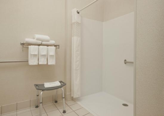 Hampton Inn Lexington South-Keeneland/Airport: Handicapp Accessible Bathroom/Roll In Shower