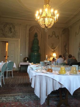 Hotel Schloss Obermayerhofen: Frühstücksraum