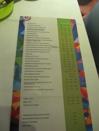 Meson Guadalquivir: tapas menu